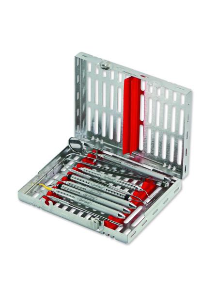 Кассета IMS,10 инструментов (152х184х34) красная
