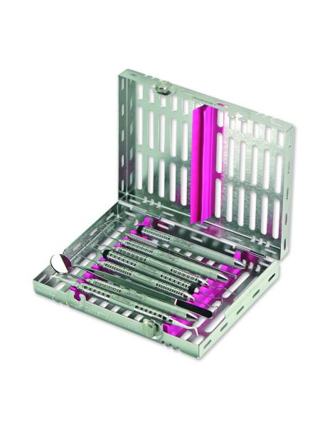 Кассета IMS,10 инструментов (152х184х34) фиолетовая