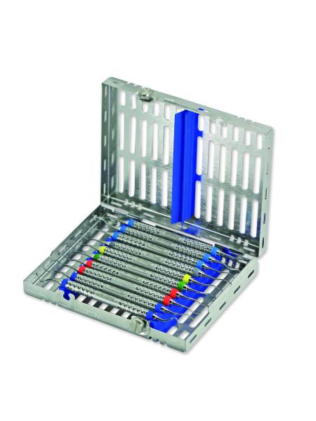 Кассета IMS,10 инструментов (152х184х34) голубая