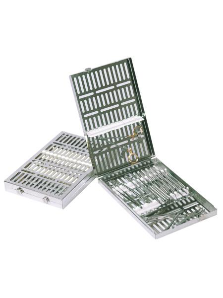 Кассета IMS,13 инструментов (290х184х34) белая, отделение для аксессуаров