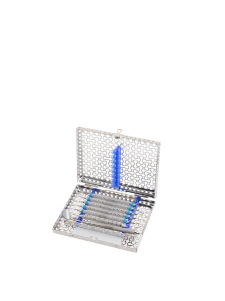 New GEN Кассета IMS на 8 инструментов, синяя