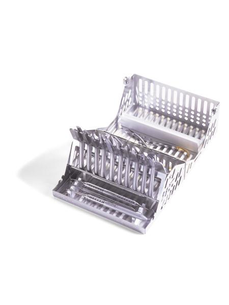 Кассета IMS, 10 инструментов (184,15х146,05х95,25) белая, ортодонтическая