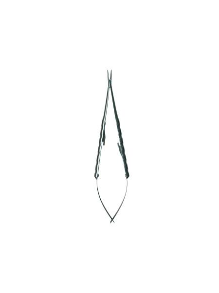 Иглодержатель микрохирургический Castroviejo 18см (от 6-0 до 8-0)