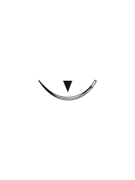 Шовный материал - PGA быстро рассас-ся, 3-0, С-6, 3/8 окружности